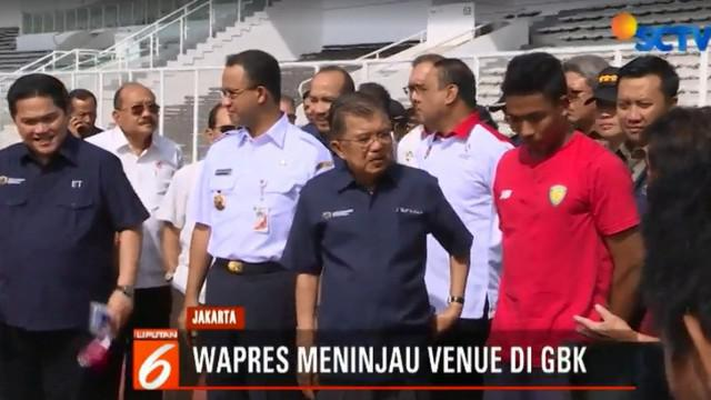 Secara keseluruhan, venue-venue di kawasan Gelora Bung Karno siap menyambut pesta olahraga multi event terbesar di Asia mendatang