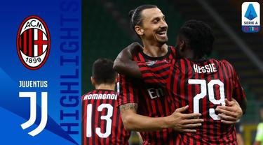 Berita Video Highlights Serie A, AC Milan Berhasil Membungkam Juventus di San Siro dengan skor 4-2
