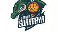 Logo klub basket IBL, Louvre Surabaya. (Istimewa)