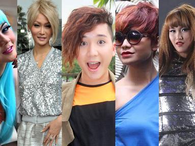 Gaya 5 selebriti ini sedikit terinspirasi dari selebriti luar negeri. Siapa saja mereka? (Istimewa)