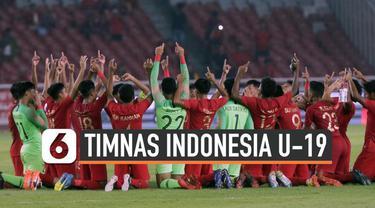 Skuat Tim Nasional Indonesia U-19 berhasil menahan imbang tim Korea Utara dalam babak kualifikasi Piala AFC di hari Minggu (10/11). Hasil ini membawa Indonesia maju ke putaran final piala AFC.