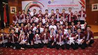 Peraih medali ASC mendapat apresiasi puluhan juta dari Kemnaker.