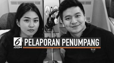 Maskapai Garuda Indonesia resmi melaporkan Rius Vernandes dan Elwiyana ke polisi terkait unggahan kertas menu di media sosial.
