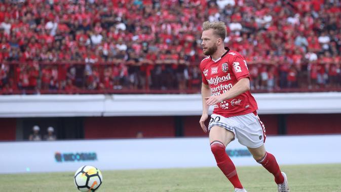Pemain asing Bali United, Melvin Platje. (Dok. Bali United)