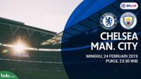 Piala Liga Inggris: Chelsea Vs Manchester City (Bola.com/Adreanus Titus)