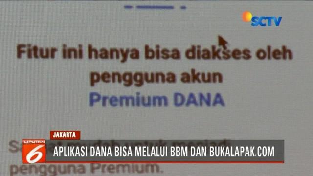 EMTEK Grup dan Dukcapil Kemendagri tanda tangani nota kesepakatan kerjasama aplikasi Dompet Digital Indonesia (DANA).