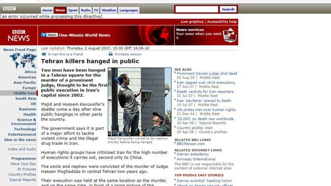 [Cek Fakta] Hacker Aljazair Dihukum Gantung karena Bobol Bank Israel demi Warga Palestina? (BBC)