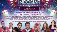 Semarak Indosiar digelar untuk masyarakat Jakarta dan sekitarnya, Sabtu (14/11/2020) mulai pukul 19.00 WIB live dari Studio EMTEK City, Jakarta Barat