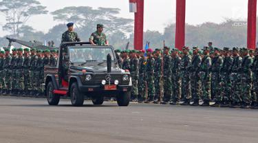 Panglima TNI Pimpin Apel Pengamanan Pelantikan Presiden