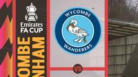 Piala FA - Wycombe Wanderers Vs Tottenham Hotspur (Bola.com/Adreanus Titus)