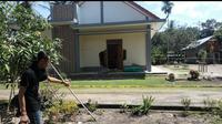 Kapel Katolik di Ogan Ilir dipasang garis polisi (dok.istimewa / Nefri Inge)