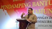 Direktur Jenderal Penanganan Fakir Miskin (Ditjen PFM) Andi ZA Dulung.