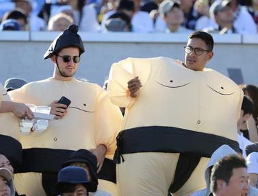 Kostum-Kostum Unik Para Fans di Rugby World Cup 2019