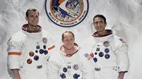 Misi penjelajahan Apollo 15 di Bulan. (en.wikipedia.org)