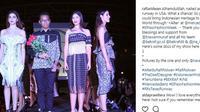 Berikut penampilan Rafi Ridwan, desainer muda tuna rungu dari Indonesia yang memamerkan karyanya di El Paso Fashion Week 2017 di Texas. (Foto: instagram/rafiaridwan)