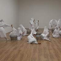 Sweet Dreams Sweet karya Melati Suryodarmo di Museum MACAN | Karla Farhana/Fimela.com