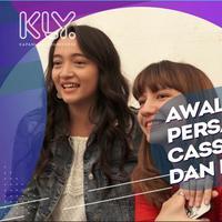 Cerita Cassandra Lee dan Megan Domani saling kenal dekat.