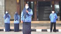 Wakil Bupati Gresik Aminatun Habibah. (Dian Kurniawan/Liputan6.com)