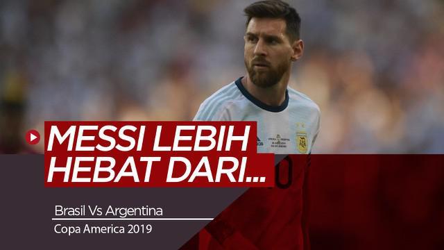 Berita Video Legenda Brasil Ungkap Messi Lebih Hebat Dibanding Cristiano Ronaldo