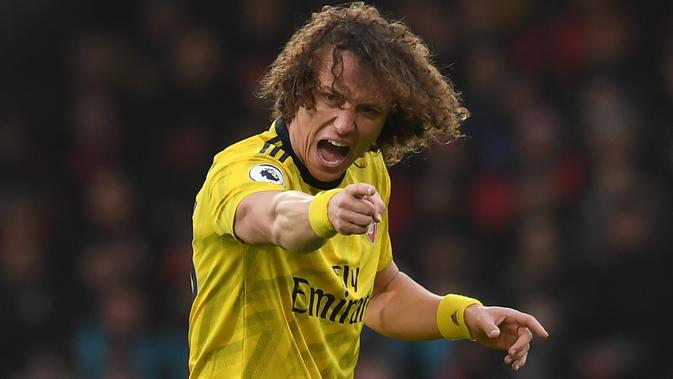 Peluang David Luiz Bertahan di Arsenal Lebih Besar daripada Gabung Benfica