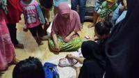 Bayi perempuan di dalam koper. Foto: (batamnews.co.id)