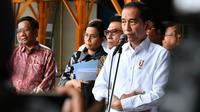 Presiden Joko Widodo atau Jokowi di Surabaya, Jawa Timur, Senin (27/1/2020). (foto: Biro Pers Setpres)