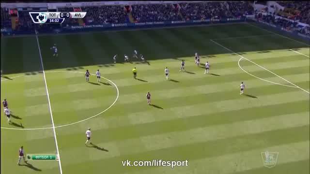 Tottenham vs Aston Villa 0-1 Goal and Highlights 11_04_2015