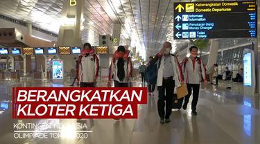 Berita Video Indonesia Berangkatkan Kloter Ketiga ke Olimpiade Tokyo 2020, Salah Satunya Atlet Angkat Besi
