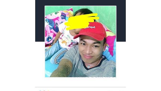 Akbar Daeng Ampuh (32), warga binaan Lapas Klas 1 Makassar sempat bermain medsos di dalam Lapas sebelum melakoni pembunuhan sadis satu keluarga di Makassar (Liputan6.com/ Eka Hakim)