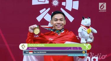 Video hit hari ini datang dari atlet angkat beban Indonesia, Eko Yuli yang menyumbangkan emas. Lalu ada 4 atlet Jepang yang terpaksa dicoret dari Asian Games karena