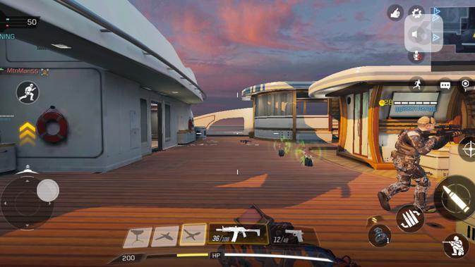 Call of Duty Mobile di ROG Phone. (Liputan6.com/ Yuslianson)