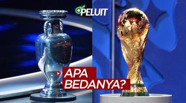 Berita video Peluit kali ini bertanya kepada sejumlah driver ojek online soal bedanya Piala Eropa dengan Piala Dunia. Apa jawaban dari mereka?