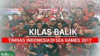 Kilas Balik Timnas Indonesia Juara Sea Games 2017 (Bola.com/Adreanus Titus)