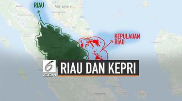Mengingat Bedanya Riau dan Kepulauan Riau