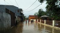 Banjir di Kabupaten Bandung. (BPBD Kabupaten Bandung)