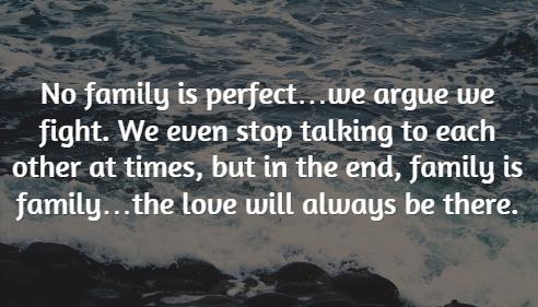 keluargaku mungkin tak sempurna tapi dari mereka kumengenal cinta