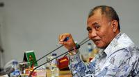 Ketua KPK, Agus Rahardjo jelang bertemu dengan pimpinan Komisi Yudisial di gedung Komisi Yudisial, Jakarta. (Liputan6.com/Helmi Fithriansyah)