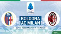 Serie A - Bologna Vs AC Milan (Bola.com/Adreanus Titus)