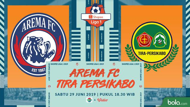 Arema FC Vs PS Tira Persikabo
