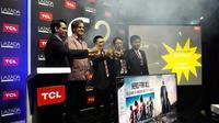 TCL meluncurkan televisi pintar berukuran 49 dan 55 inci (Liputan6.com/Agustinus M.Damar)