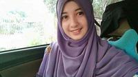 Aisyah Bahar perempuan muda yang meninggal ketika sedang tadarus. Foto: (Fauzan/Liputan6.com)