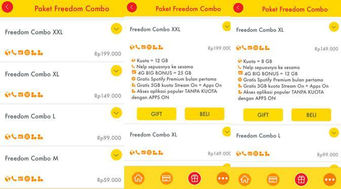 Tarif internet Indosat Ooredoo