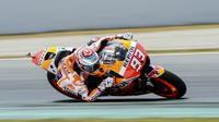 Pembalap Repsol Honda, Marc Marquez. (Josep LAGO / AFP)