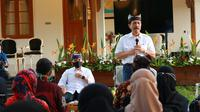 Menko Kemaritiman dan Investasi Luhut Binsar Pandjaitan memimpin rapat koordinasi pengembangan pariwisata di Kabupaten Banyuwangi, Rabu (29/7/2020).