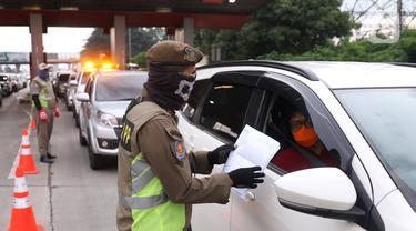 Masuk Jakarta Wajib Tunjukkan SIKM