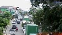 Tingginya volume kendaraan di ruas arteri yang mengarah ke Bandung seiring perbaikan Jembatan Cisomang.