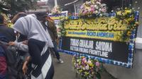 Suasana rumah duka suporter Persib Bandung, Ricko Andrean (22) (Kukuh Saokani/Liputan6.com)