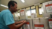 Kotak suara Pilpres 2014 (Liputan6.com/Faizal Fanani)
