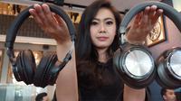 Bluetooth headphone Audio Technica seri DSR7BT dan DSR9BT.Liputan6.com/Agustin Setyo W