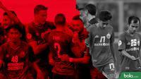Beda Nasib PSM Makassar dan Persija Jakarta (Bola.com/Adreanus Titus)